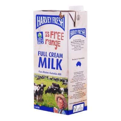 Susu Full Cream Terbaik Harvey Fresh Milk Full Cream