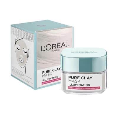 Clay Mask Terbaik Loreal Pure Clay Mask Illuminating