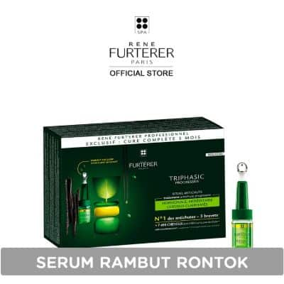 Vitamin Untuk Rambut Rontok Terbaik Rene Furterer Triphasic Progressive Anti Hairloss Ritual Hair Serum