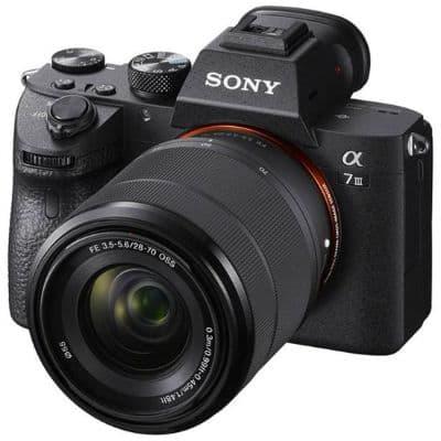 Kamera Mirrorless Terbaik Sony Alpha 7 III