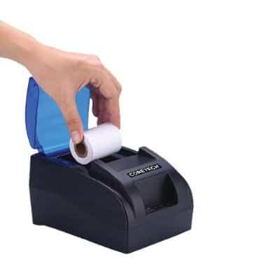 Portable Printer Thermal Bluetooth Terbaik Coretech CA58 Thermal Receipt Printer Bluetooth