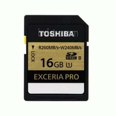 MicroSD Terbaik Toshiba Exceria Pro SDHC UHS-II