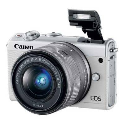 Kamera Mirrorless Terbaik Canon Mirrorless EOS M100