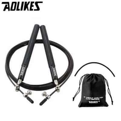 Alat Olahraga di Rumah Terbaik Aolikes Jump Rope Steel Wire Bearing