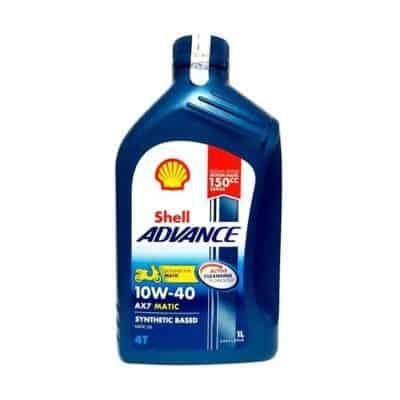 Oli Motor Terbaik Shell Advance Matic
