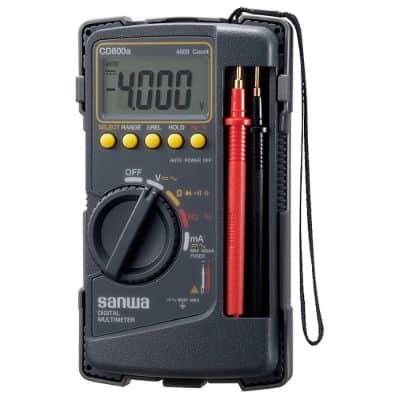 Multimeter Digital Terbaik Sanwa CD800A