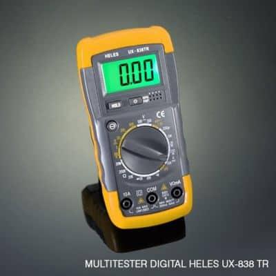 Multimeter Digital Terbaik Heles UX-0838TR